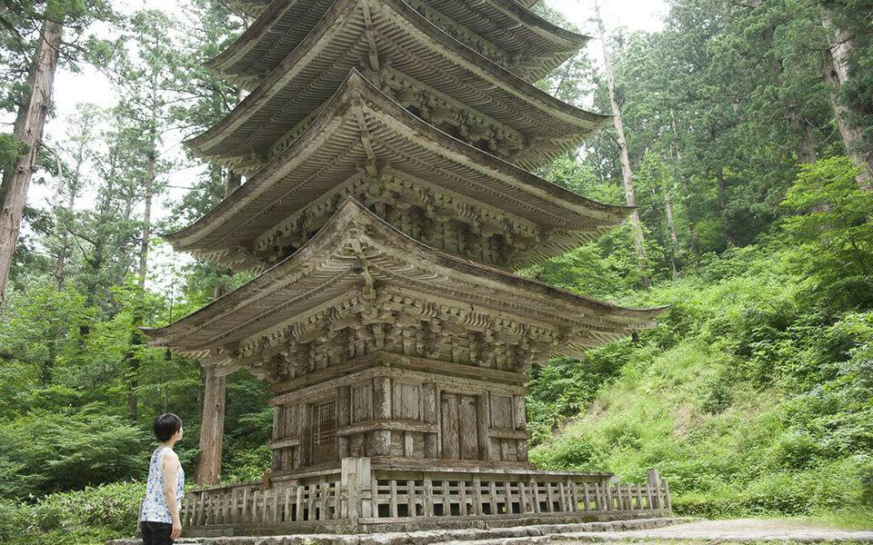 東北最古、千年を紡ぐ国宝・五重塔